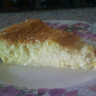 Low Carb Coconut Pie – Gluten Free