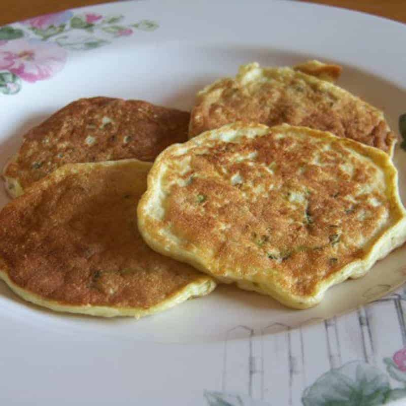 Low Carb Zuccini Pancakes