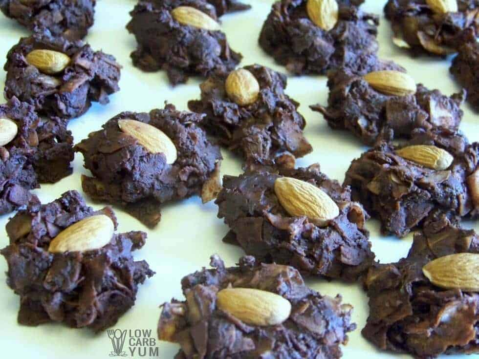 Low carb sugar free chocolate covered coconut candy recipe