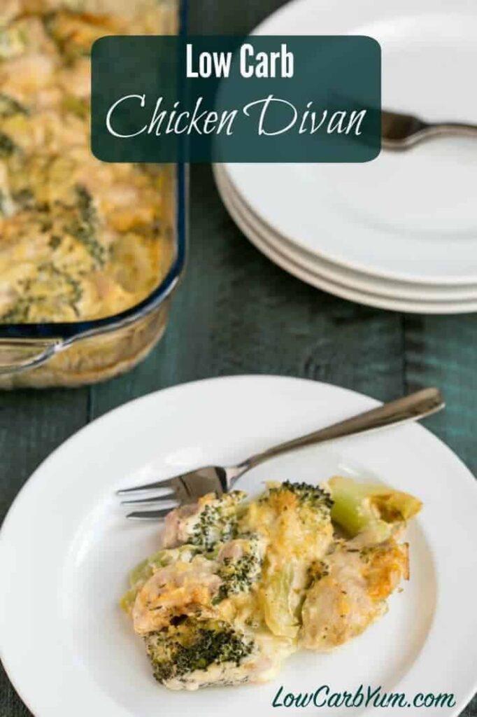 Low Carb Chicken Divan Casserole