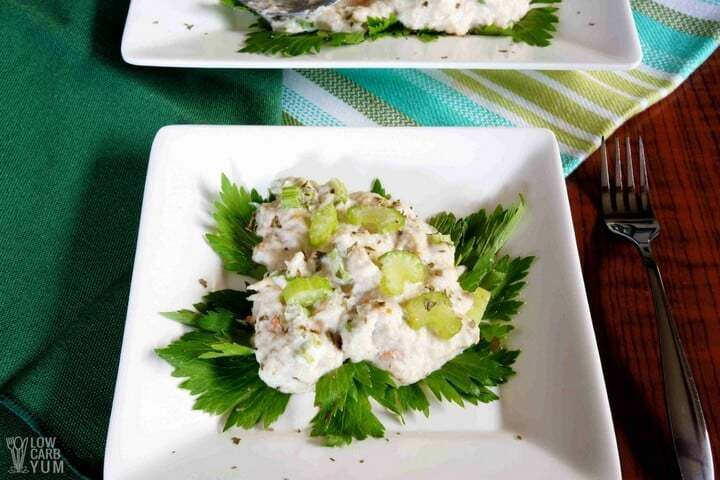 Low carb crab salad recipe