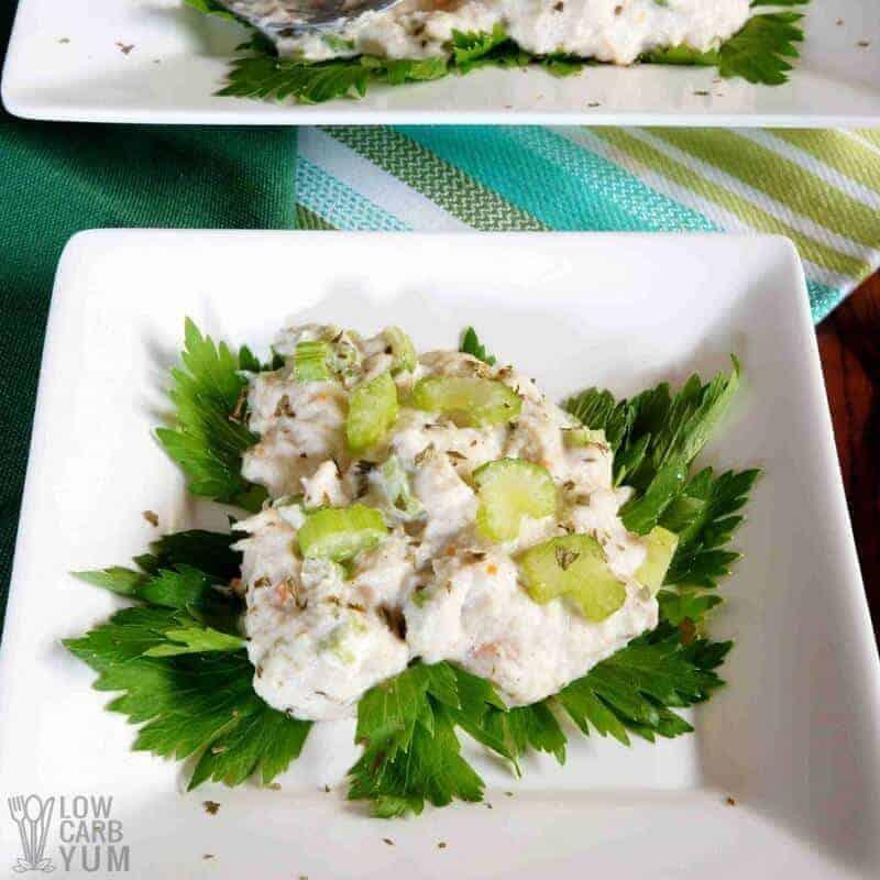 Low Carb Crab Salad Recipe Paleo Friendly Low Carb Yum