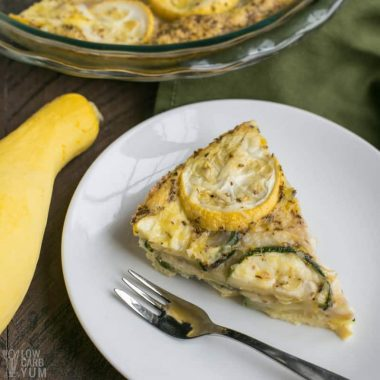 Yellow Summer Squash Frittata