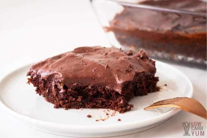 zucchini brownies keto recipe