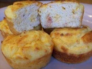 Low Carb Bacon Egg and Cheese Muffins