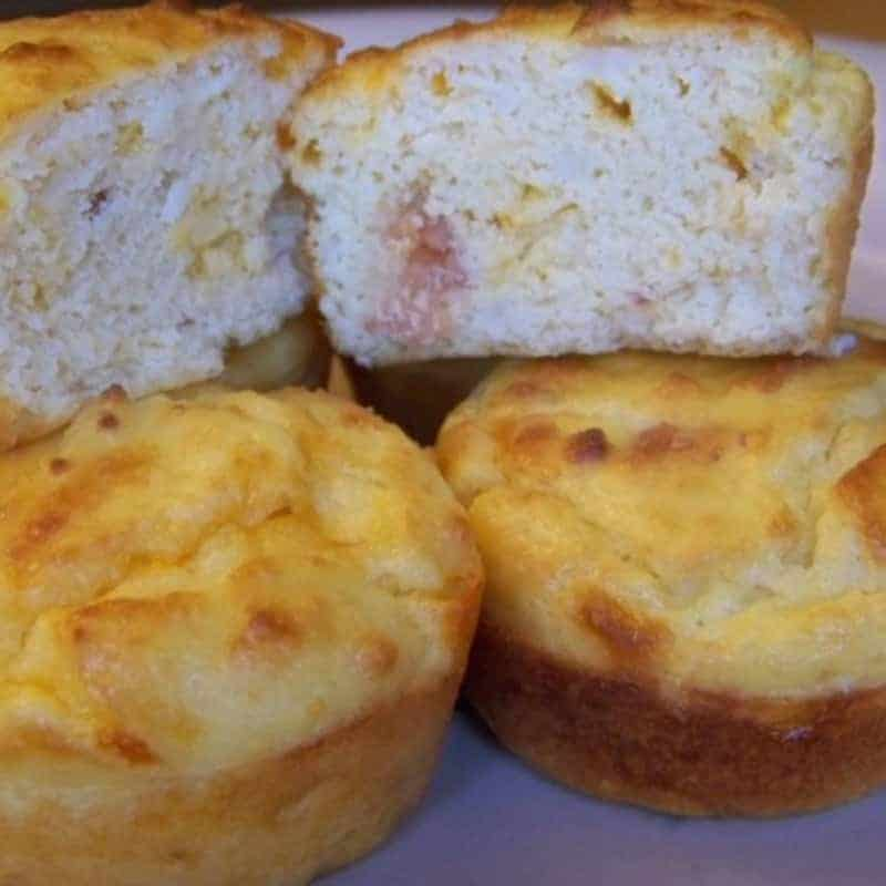 Bacon Egg and Cheese Muffins - Gluten Free