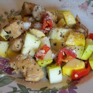 Chicken Summer Squash Stir Fry