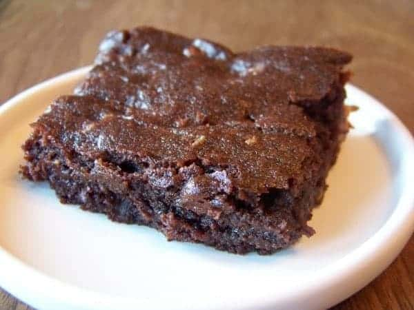 Low Carb Fudge Brownies