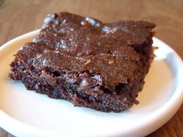 Low Carb Fudge Brownie