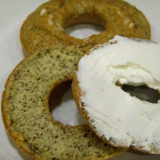 Low Carb Gluten Free Onion Bagels