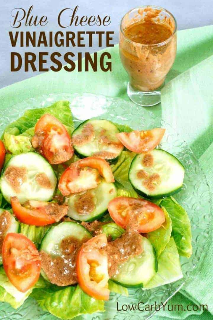 Low carb blue cheese vinaigrette recipe
