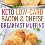 cottage cheese keto breakfast muffins