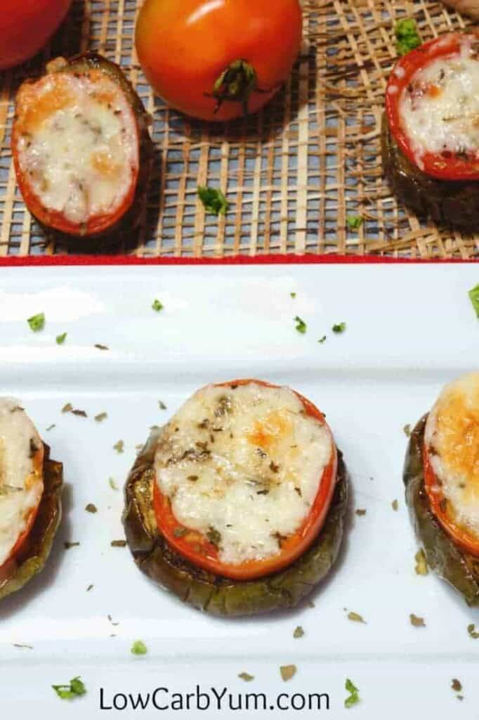 Easy eggplant tomato recipe appetizer tall
