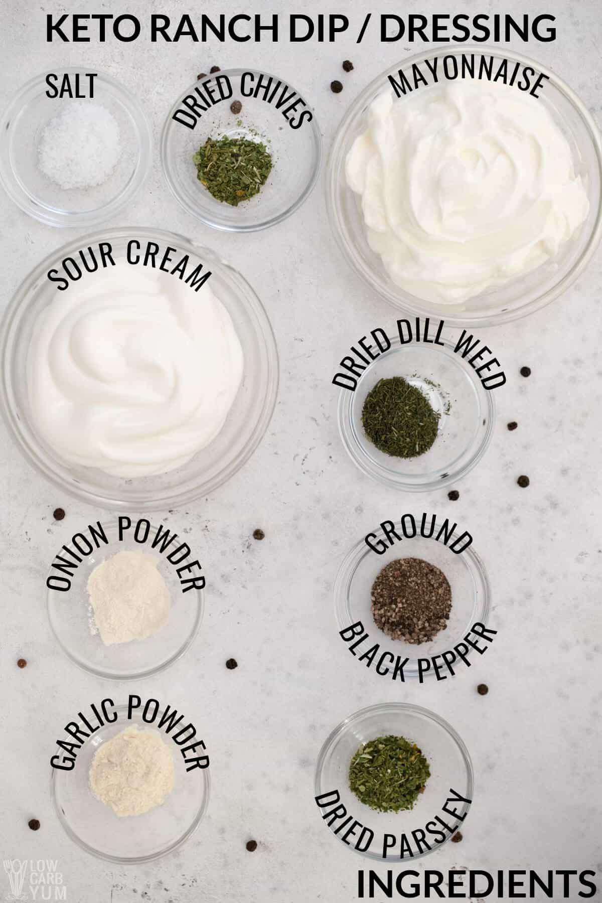 keto ranch dressing ingredients