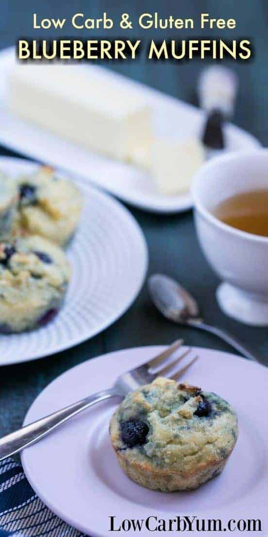 Low Carb Blueberry Muffins Gluten Free Low Carb Yum