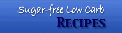 original sugarfreelowcarbrecipes.com logo