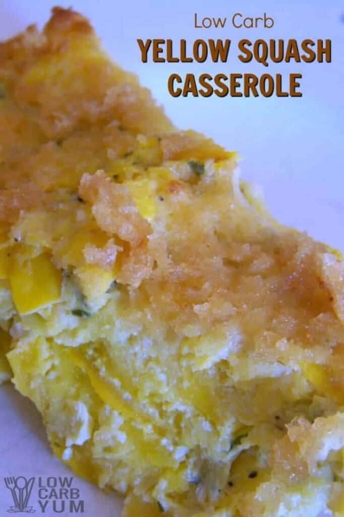 Yellow squash casserole recipe slice cover