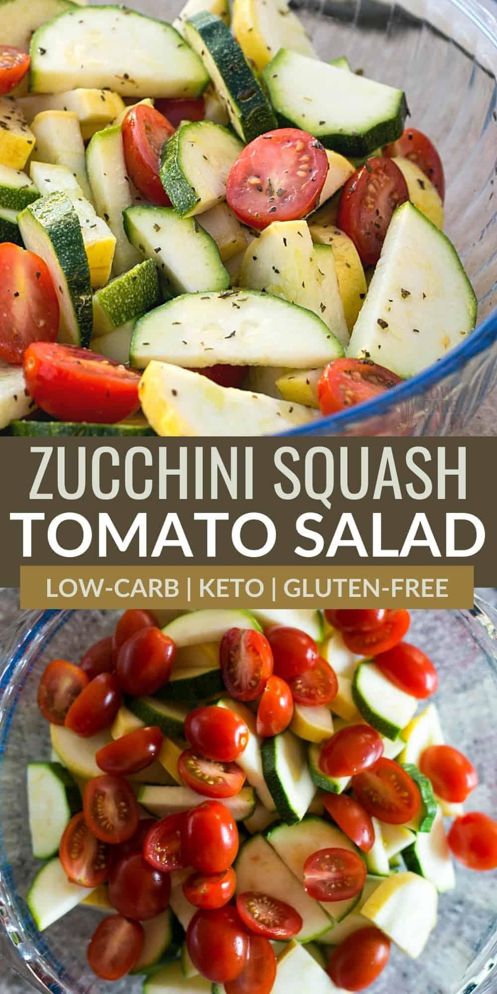 zucchini squash salad pinterest image
