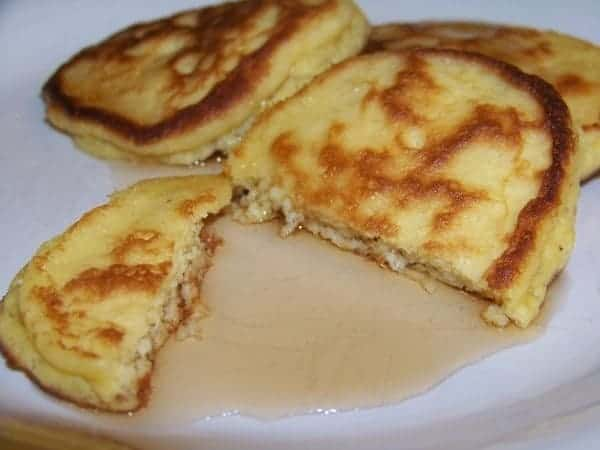 Gluten Free Coconut Flour Pancakes