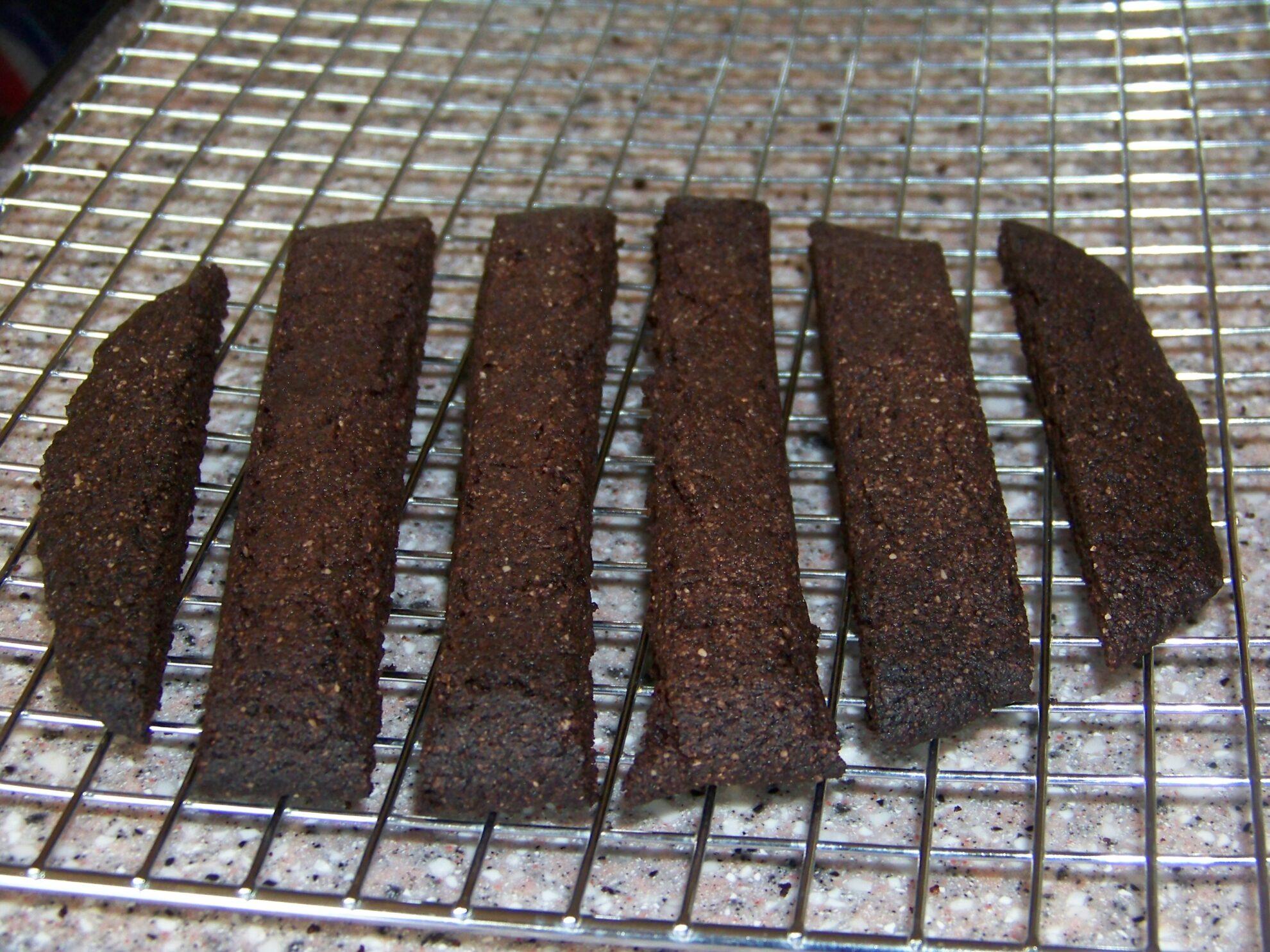 Gluten Free Chocolate Biscotti | Low Carb Yum