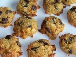 Low Carb Coconut Choc Chip Cookies
