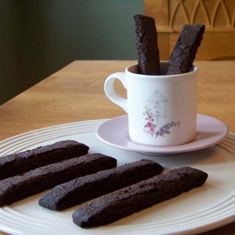 Chocolate Low Carb Biscotti Recipe – Gluten Free