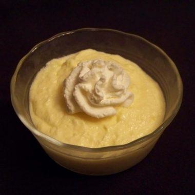 Low Carb Banana Pudding Custard