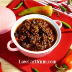 Low Carb No Bean Chili – Gluten Free