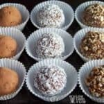 Chocolate cream cheese truffles recipe