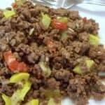 Easy hamburger squash casserole skillet recipe
