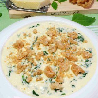 Cheesy Creamed Spinach – Gluten Free