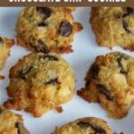 Low carb gluten free coconut chocolate chip cookies recipe