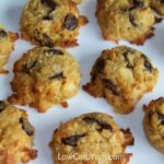 Low Carb Gluten Free Coconut Chocolate Chip Cookies