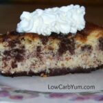 Low Carb Gluten Free Cookies and Cream Cheesecake
