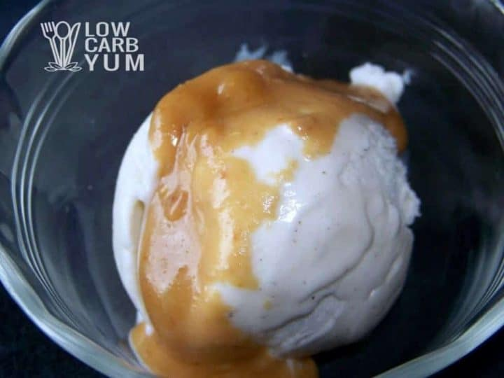Peanut butter ice cream topping featured