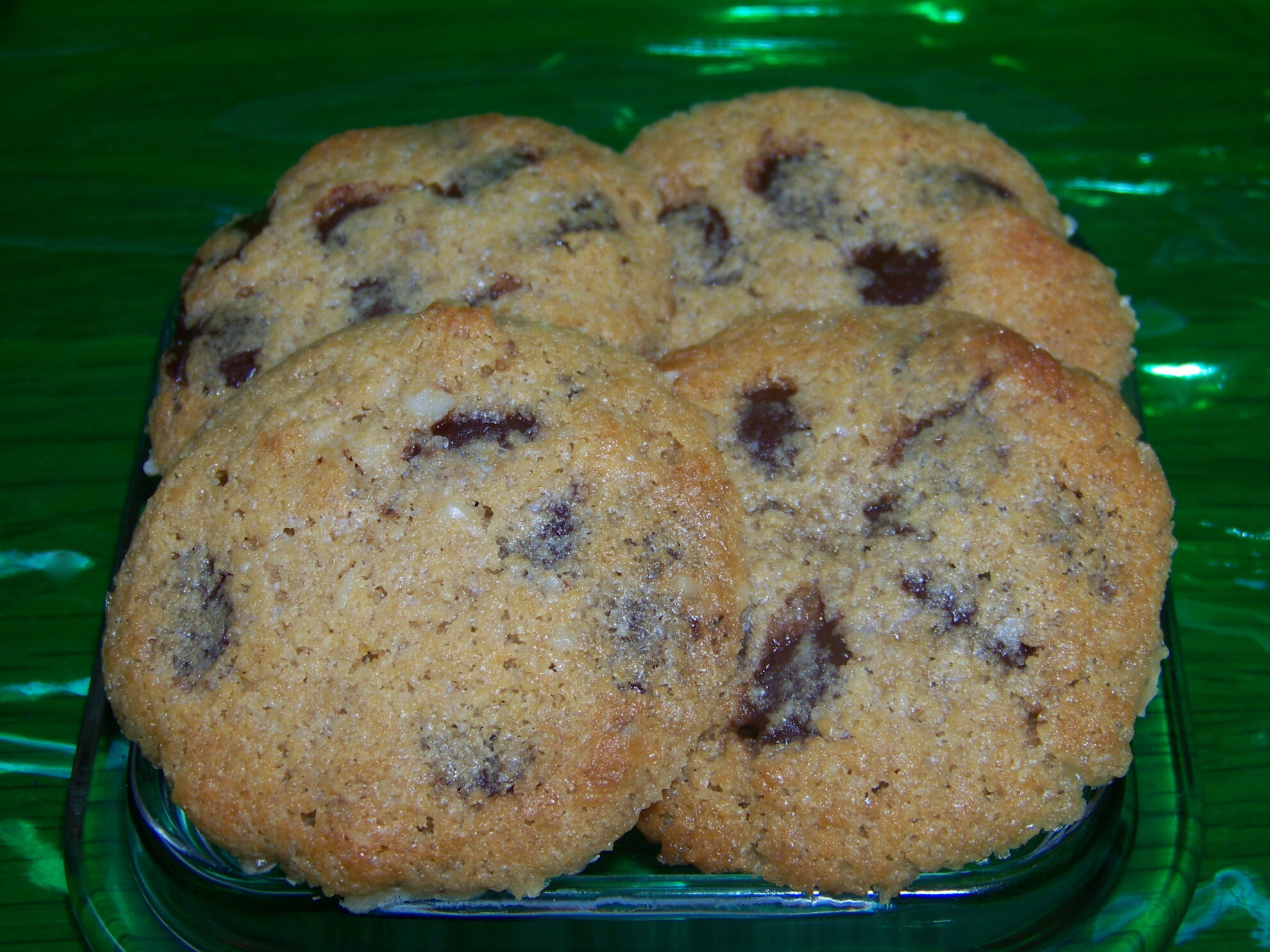 Carbs in chocolate chip cookie