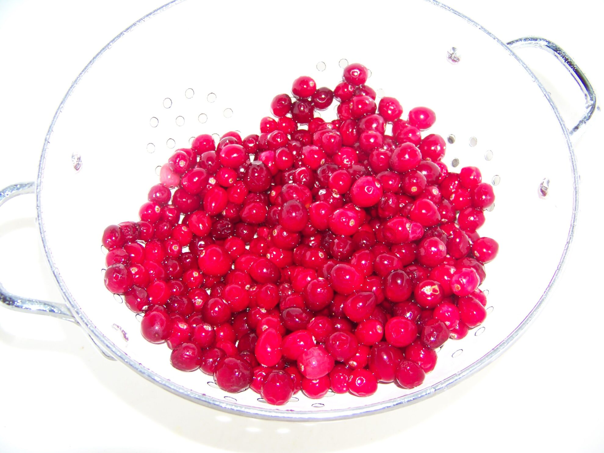 how to make dried cranberries from frozen