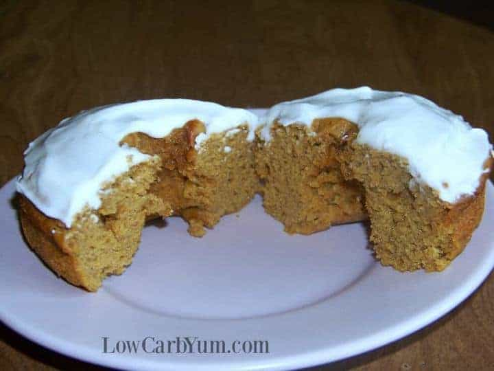 Low carb gluten free pumpkin donuts