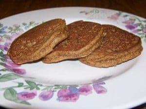 Low Carb Gluten Free Pumpkin Pancakes