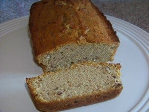 Low Carb Gluten Free Pumpkin Bread
