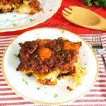 Cabbage Beef Tomato Casserole