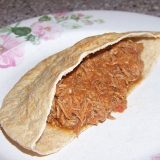Low Carb Pulled Pork Sandwich