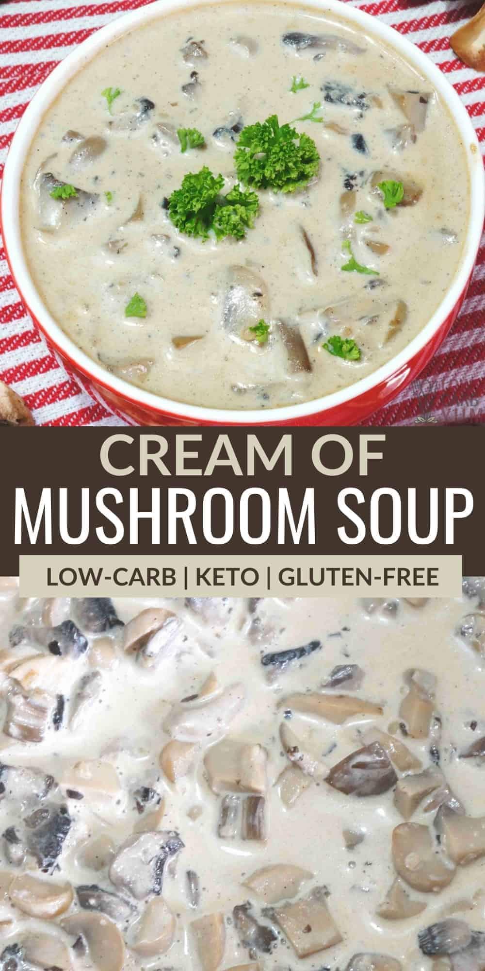 cream of mushroom soup pinterest image