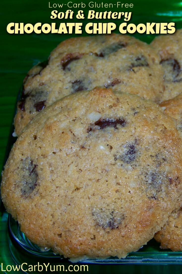 If you prefer a soft buttery chocolate chip cookie, these gluten free chocolate chip cookies are sure to satisfy. They tastes very close to the real thing.