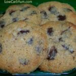 Low Carb Gluten-Free Chocolate Chip Cookies