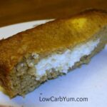 Low carb gluten free cream cheese filled pumpkin bread