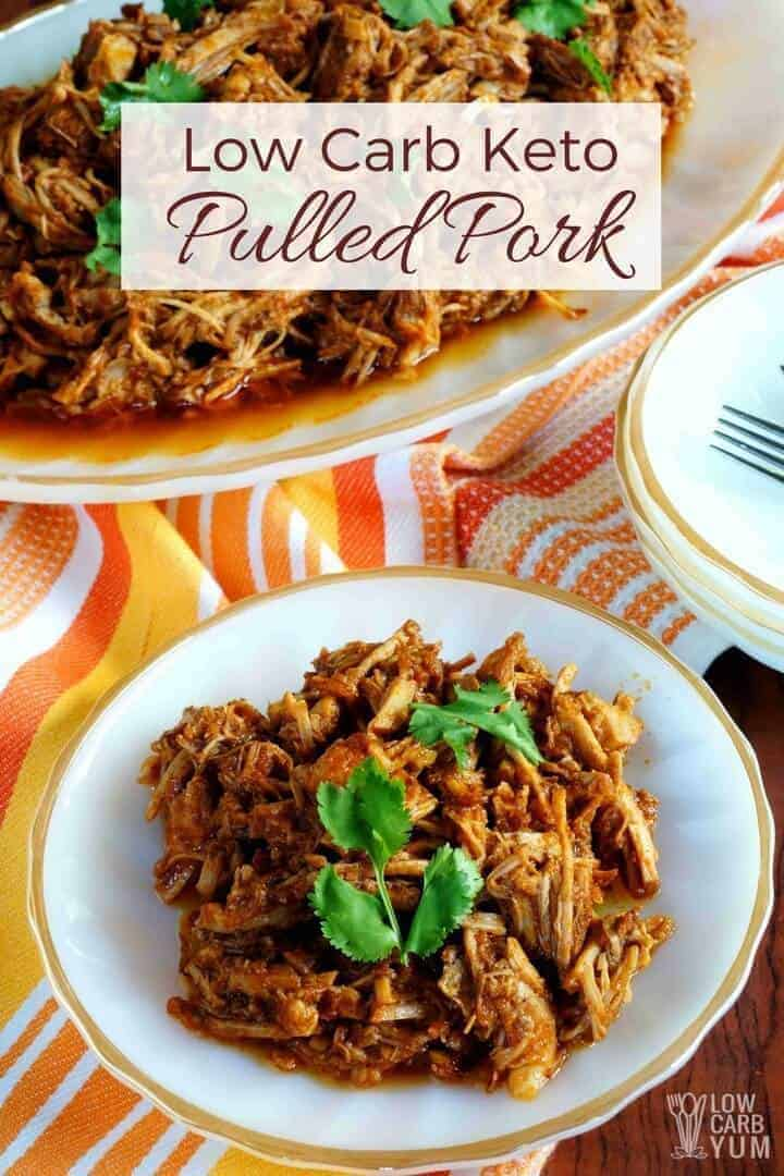 Keto friendly low carb pulled pork recipe