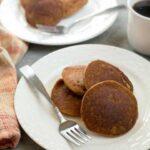 Easy to make keto low carb pumpkin pancakes