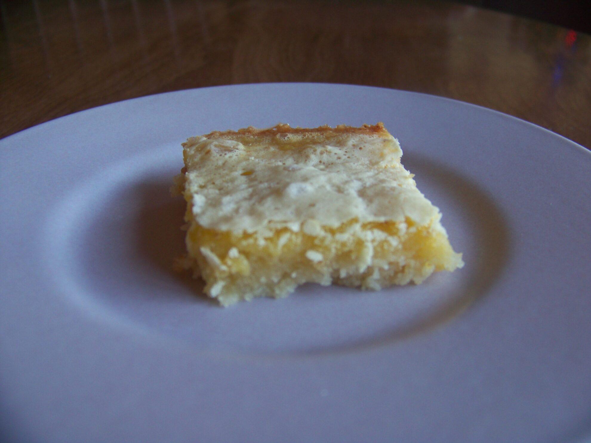 Lemon Square Bars | Low Carb Yum
