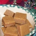 Sugar Free Holiday Peanut Butter Fudge